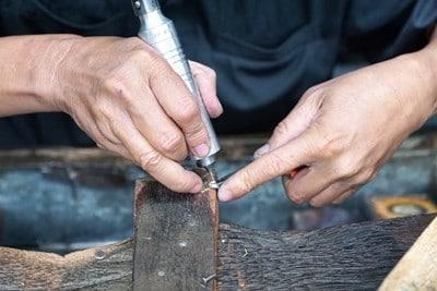 Conservatie en restauratie archeologische vondsten door VUhbs