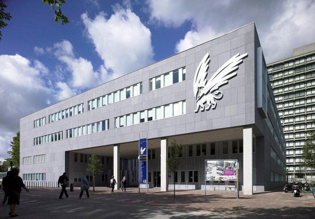 VUhbs op de campus van de Vrije Universiteit Amsterdam De Boelelaan 1105